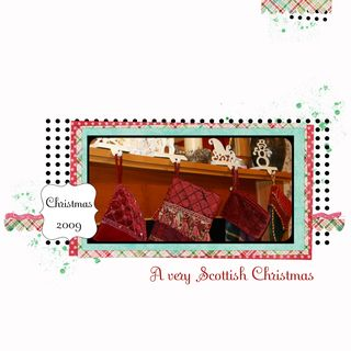 2009 - Scottish Christmas Cover